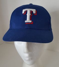 Texas Rangers Hat Blue Baseball Adjustable Team MLB Youth Size Cap  TeamMLB   TexasRangers aae3a3ea9