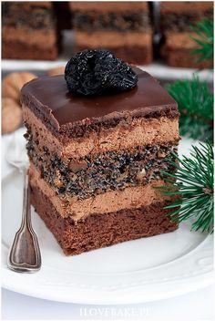Polish Recipes, Something Sweet, Just Desserts, Vanilla Cake, Tiramisu, Recipies, Deserts, Food And Drink, Menu