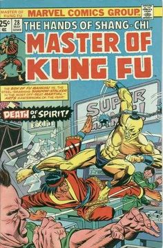 Master of Kung Fu #28 - Death of a Spirit!