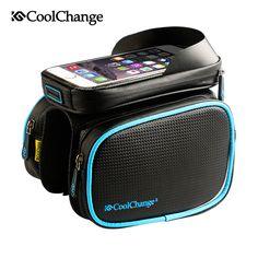 CoolChange Bicycle Frame Front Head Top Tube Waterproof Bike Bag&Double IPouch Cycling For 6.0 in Cell Phone Bike Accessories //Price: $27.28 & FREE Shipping //   #hashtag2    #Swimming #Camping