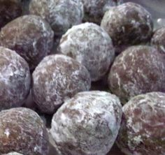 Rum Balls....this is pretty much the same recipe I make every year and everyone loves them!