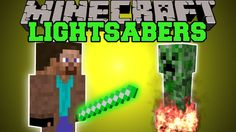 Minecraft: LIGHTSABER MOD (USE THE POWER OF THE FORCE) Mod Showcase