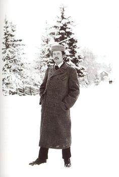Edvard Munch (1863-1944). photo in 1900