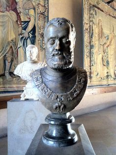 Ottavio Farnese  Annibale Fontana  sec XVI  Castello Sforzesco - Milan