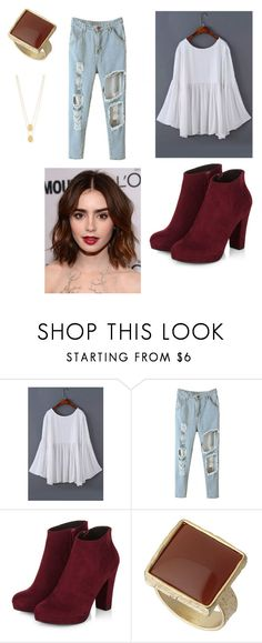 """""""Untitled #422"""" by elisepolice45 ❤ liked on Polyvore featuring Dorothy Perkins and Jennifer Zeuner"""
