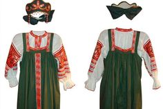 Traje típico y tradicional de Rusia