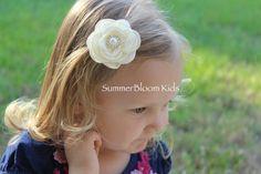 Violet hair clips violet hair bows violet by SummerBloomKids