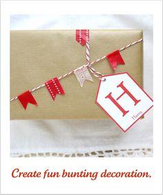 Daisyley: Christmas Wrapping Ideas -  Washi tape