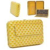 Yellow Flat Wallet $10.00