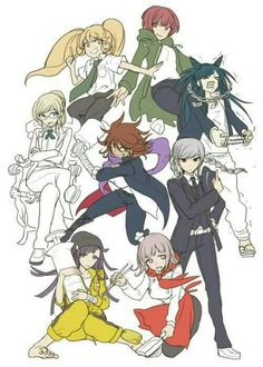 Hiyoko would be a pretty interesting protagonist haha also Peko looks even more badass now