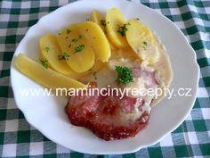 Uzené maso zapečené s křenem Eggs, Breakfast, Food, Morning Coffee, Essen, Egg, Meals, Yemek, Egg As Food