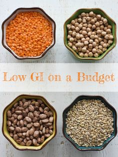6 Budget-Friendly Low Glycemic Foods to Get Excited About