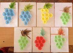 Játékos tanulás és kreativitás: Szőlő ötletek Origami, Diy And Crafts, Creative, Kids, Education, Christmas Ornaments, Crafts, Young Children, Boys