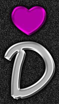 D by gizzzi Pink Zebra Wallpaper, Monogram Wallpaper, Butterfly Wallpaper Iphone, Alphabet Wallpaper, Heart Wallpaper, D Letter Images, Felt Keychain, Stylish Alphabets, Alphabet Letters Design