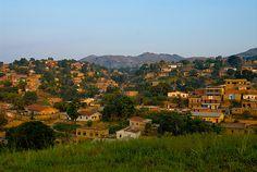 Matadi in the evening light. The city in the Democratic Republic of Kongo where Hakika Hasina was born and raised