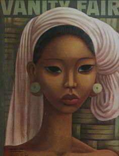 Vintage artwork of a Balinese woman #bali #art #vintage