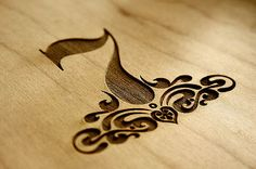 Now this I like, both as a wood branding and tattoo idea.