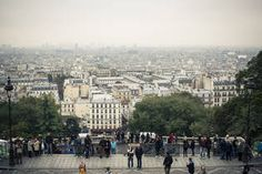 Reaching the top of Montmarte requires a bit of a climb.| Eiffel Tower: About 20 min by Subway | Article about Montmartre https://www.airbnb.com/locations/paris/montmartre