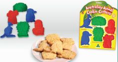 AUSTRALIAN ANIMAL COOKIE CUTTERS - easy way to decorate snacks for Outback VBS.