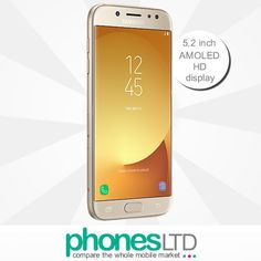 Compare Samsung Galaxy J5 2017 Cheapest Deals from All Retailers at @PhonesLTD #galaxyj52017 #samsunggalaxyj5 #j5gold