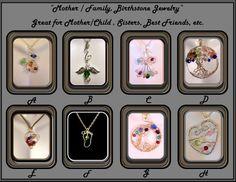 Mom giftsMother jewelrybirthstone jewelryMother by SpecialMomGifts