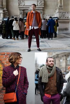 If You're Thinking About……New Color Combinations for This Fall - The Sartorialist