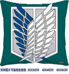 Attack on Titan pillow 3912