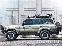 Bug Out Vehicle: The 1994 Toyota Land Cruiser Toyota 4x4, Toyota Trucks, Lifted Ford Trucks, Tacoma Toyota, Toyota 4runner, Toyota Land Cruiser 150, Land Cruiser Pick Up, Land Cruiser Fj80, Best Suv Cars