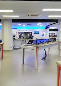 Cell phone security and digital signage in Chile