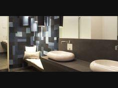No projeto de banheiro da arquiteta Carla Dichy para a Casa Cor São Paulo