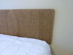 Our Fifth House: Rope Headboard Tutorial