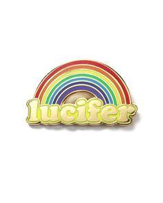 Lucifer Rainbow Pin