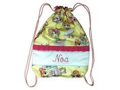 Bolsa merienda colección Noa de TieneTela por DaWanda.com