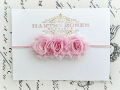 newborn headband-ok, this is about the only type of baby headband i find acceptable..just sayin @Beth Miller ;)