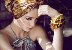 <3 head wrap + bangles! What Is Bohemian Style | bohemian fashion « Yellow Bohemia