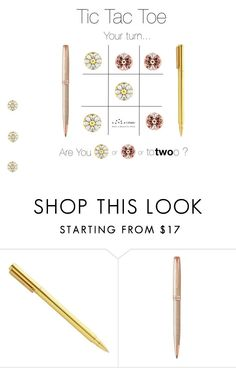 """Tic Tac Toe ToTwoO"" by lovaconsultancy on Polyvore featuring mode, Parker, WearableTech, totwoo et smartjewelry"
