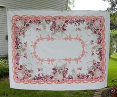 lovely vintage tablecloth