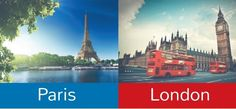 #London vs. #Paris: How do the two rivals compare? #QSBestCities