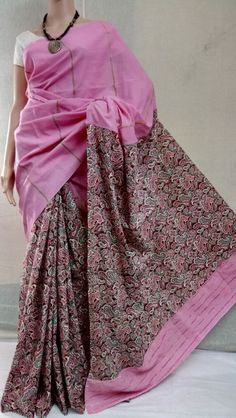 Elegant Fashion Wear Explore the trendy fashion wear by different stores from India Kalamkari Fabric, Kalamkari Dresses, Elegant Fashion Wear, Trendy Fashion, Womens Fashion, Printed Sarees, Printed Blouse, Cotton Saree, Silk Sarees