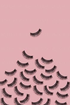 eyelashes by Juan Moyano - Eyelash, Make-up - Stocksy United Eyebrows, Eyeliner, Eyelash Logo, Eyelash Brands, Fake Lashes, False Eyelashes, Fond Design, Elf Make Up, Tableau Pop Art