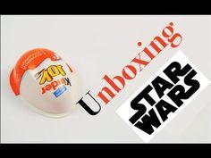 Открываем Киндер Джой (KinderJoy) с игрушкой из Звездных воин