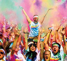 Traumhaft verrückt! Dieses Event macht einfach nur gute Laune und entwickelt sich zu einem absoluten Phänomen. Tausende feiern gemeinsam Ihre Bewegungs- und Lebensfreude und das ganz bunt. Wie sich vermuten lässt, geht es nicht um die beste Zeit – sondern in erster Linie um viel Spaß und der ist garantiert. Entflieh dem grauen Alltagsstress und begib Dich auf den Weg der puren Freude und Freiheit....  Mehr gibt es hier: http://performance-sports.net/2014/03/22/colour-run/