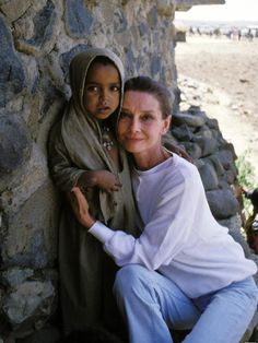 Audrey was a proud member of UNICEF from 1988 to 1992, traveling to the world's poorest countries and visiting with international orphanages.