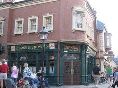 Rose & Crown Pub @ Walt Disney World's Epcot - by Jamie Benny
