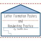 """This product has two components:  1. 26 Posters (8""""1/2 x 11) containing print letters on House Paper.  This paper helps students that are beginning..."""