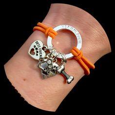 Love my Angel Dog Halo Pet Memorial Bracelet In by HEAVENSBOOK