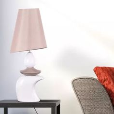 Buy Remember The Love Table Lamp online from the White Teak Company. Shop side table lamps, home decor, home lighting and more. Luxury Lighting, Home Lighting, Side Table Lamps, Straight Lines, Teak, Curves, Universe, Glamour, Display