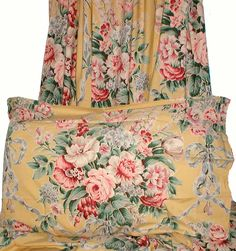 Ralph Lauren Evelyn Floral Vintage-I  have these as well and still use them in our guest bedroom-love them.