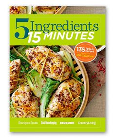 Look at this 5 Ingredients 15 Minutes Hardcover on #zulily today!