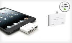 Groupon - Aduro Lightning Camera Connection Kit for iPad. Free Returns. in Online Deal. Groupon deal price: $7.99